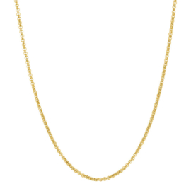 IXXXI Necklace staal goud - 100 cm
