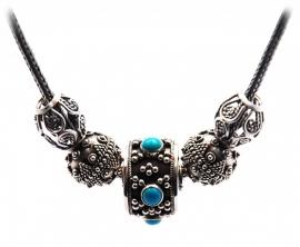 Bali turquoise maximum | Prachtige hanger aan Pandora ketting