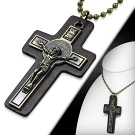 Mannen Ketting Kruis