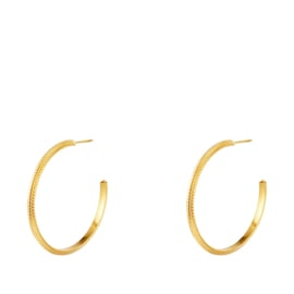 Oorringen Chirurgisch staal goud - 40 mm