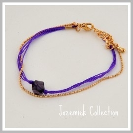 Orchid Grape Jozemiek Collectie DAMES ARMBAND