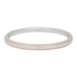 Double gear ring iXXXi zilver kwaliteit juwelier - 2 mm