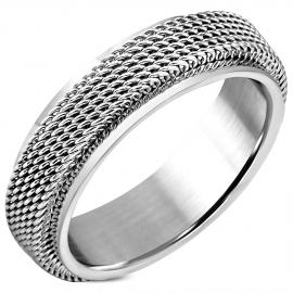 Stalen ring dames of heer
