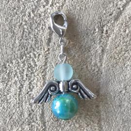 Guardian Angel Blue & Green