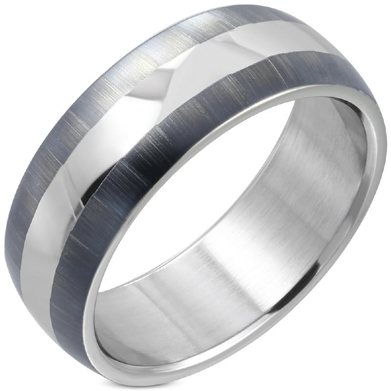 Stalen ring dames rvs - Ringmaat 17