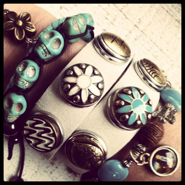 Lente armbanden combinatie
