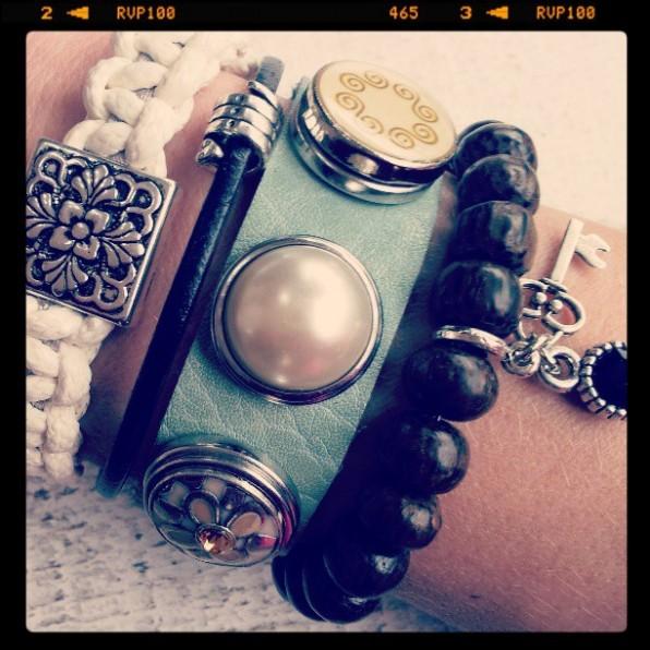 Inspiratie foto met armbanden