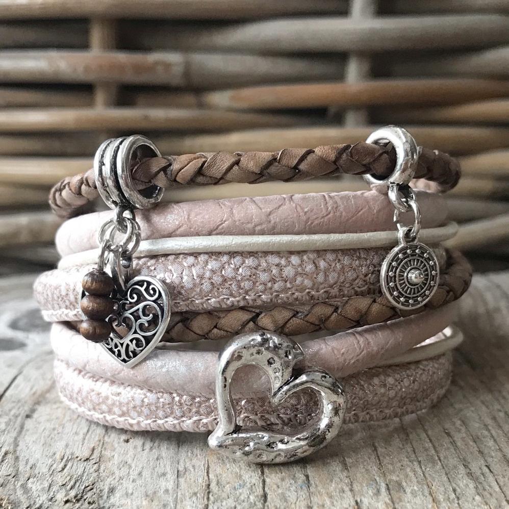 Nieuwe collectie wikkelarmbanden