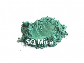 SQ Mica - Dark Green - KNM007