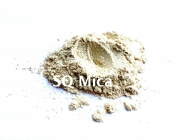 SQ Mica - Parel Goud - KNM027