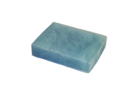 Glycerin soap - Blue-Gold pastel  - pearlescent - 100 grams - GLY157