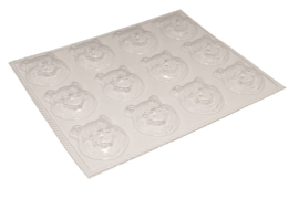 Soap mold - Bolke bear - 12 units - ZMP006