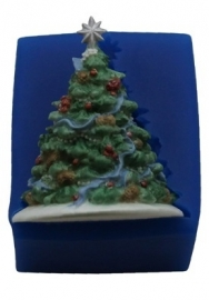 - SALE -  First Impressions - Mold  - Christmas - christmas tree large - SE237