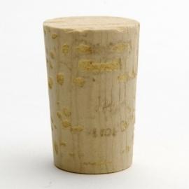 Glazen fles - apotheek + kurk - 100 ml