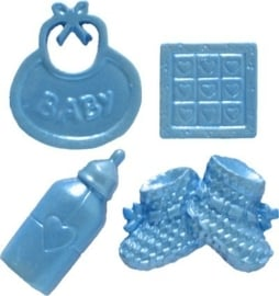 - SALE - First Impressions - Mold - Baby Set - 7 - B201