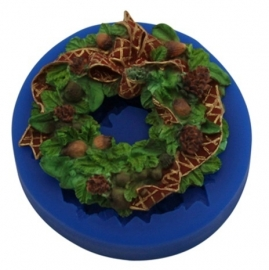 - SALE - First Impressions - Mold - Christmas - Wreath - SE296