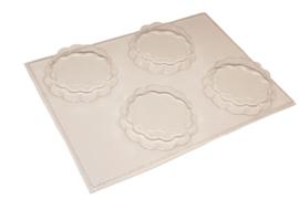 Zeepmal - taartjes 4 stuks - ZMP047