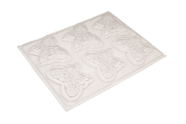 Soap mold - butterfly - 6 units - ZMP043