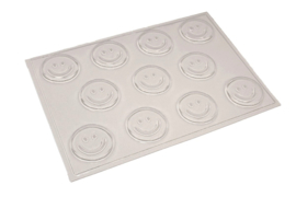 Soap mold - Smiley - 11 units - ZMP039