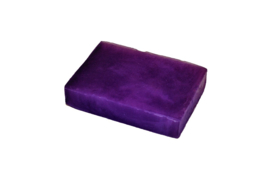 Glycerin soap - Dark Purple - pearlescent - 100 grams - GLY158