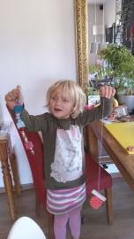 WINNAAR - Prijs: Koopdoos zeep + badkaviaar voor 4 kinderen 042. Yvette uit Buurmalsen - P4197