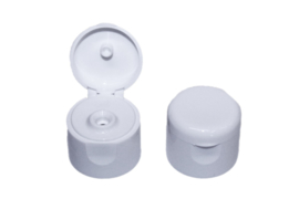 hinged cap - white - small - 20 mm - FKD05