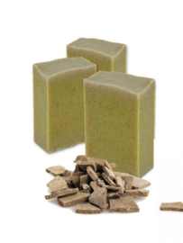 SQ-Natural - Olive Oil Soap - Ghassoul Atlas Clay & Mint - SQN08