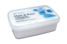 Glycerin soap - melt & pour soap base - extra white - Crystal WST - GGB04