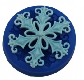 - SALE - First Impressions - Mold - Christmas - filigree snowflake - SE295