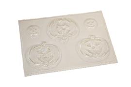 Soap mold - Halloween Pumpkin - 5 units - ZMP015