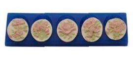 - SALE - First Impressions - Mold - Flowers - Cameo Flowers - FL231
