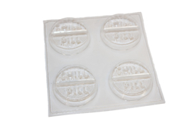 Soap mold - Chill Pill - 4 units - ZMP009