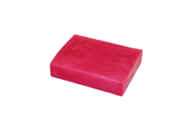 Glycerin soap - Peach Pink  - pearlescent - 100 grams - GLY153
