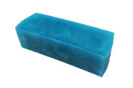 Glycerinezeep - Turquoise - 1,2 kg - GLY252 - parelmoer