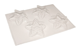 Soap mold - Star - 4 units - ZMP042