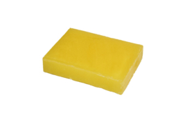Glycerin soap - Bright yellow - pearlescent - 100 grams - GLY136