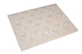 Soap mold - hearts - little - 27 units - ZMP023