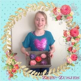 - WINNAAR Jury - Prijs: Koopdoos zeep + badkaviaar voor 4 kinderen - 037. Isabelle uit Abbekerk - P1657