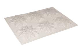 Soap mold - Christmas - Christmas hellebore - 6 units - ZMP055