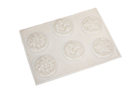 Soap mold - sun - moon - stars - 6 units - ZMP044