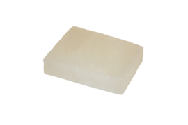 Glycerin soap - Silver white  - pearlescent - 100 grams - GLY138