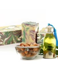 - NEW - SQ-Natural - Olive Oil Soap - Argan oil & Orange Blossem - SQN10