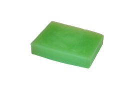 Glycerin soap - Apple Green - pearlescent - 100 grams - GLY129