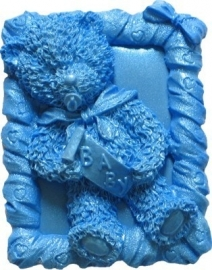 - SALE - First Impressions - Mold - Teddy bear - boy - TB124 -