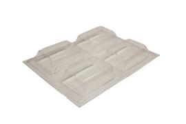 Soap mold - rectangle - little - 4 units - ZMP051