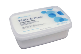 melt & pour soap base - white - Crystal SS - Solid Shampoo base - GGB20