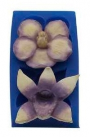 - SALE - First Impressions - Mold - Flowers - Orchid Set 2 - FL303