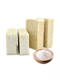 SQ-Natural - Olive Oil Soap - Donkey Milk (Dead Sea Salt) - SQN07