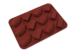 silicone mold - chocolate bonbons - mini - 12 units - ZMR022