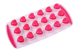 plastic / rubber mold for melts - hearts - ZMR045